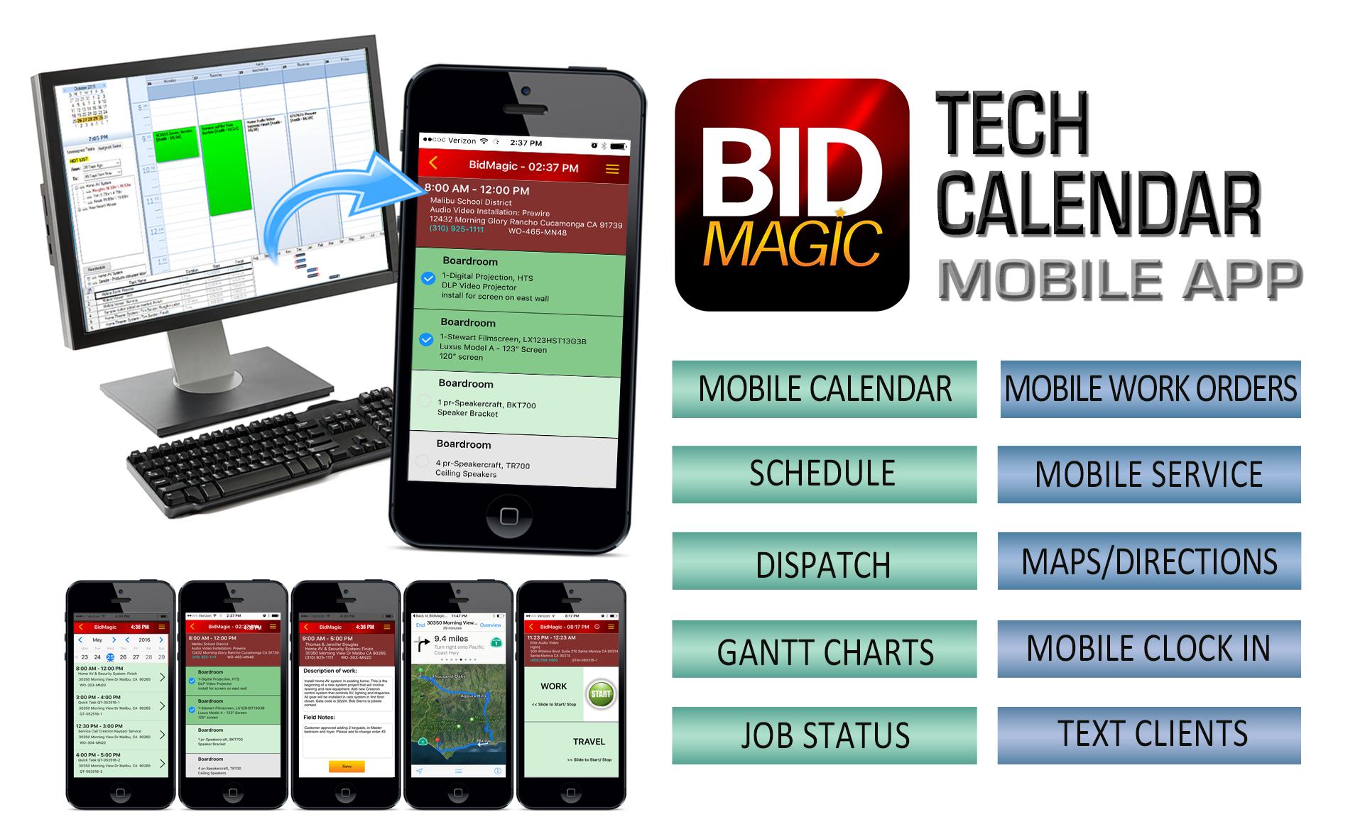 Calendarandiphoneappwide6 Tech Calendar